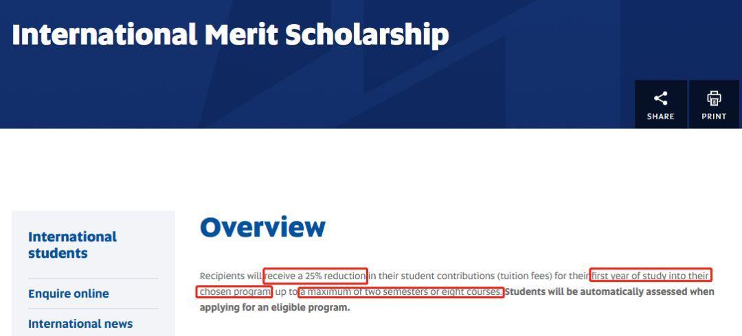 必看!南澳州大学奖学金最强总汇!不是学霸也可以拥有!